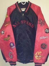 Negro League All Stars Baseball RED Bomber Jacket Coat by JC Freeman, Size: 4XL