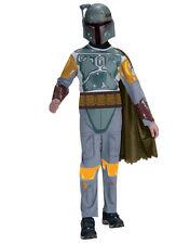 """Star Wars Kids Boba Fett Costume, Style 1, Med, Age 5 - 7, HEIGHT 4' 2"""" - 4' 6"""""""