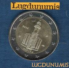 2 euro Commémo - Allemagne 2015 Eglise Saint Paul G Karlsruhe Germany