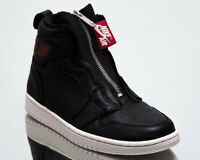 Air Jordan 1 High Zip Premium Women's Black Gym Red Lifestyle Sneakers Shoes
