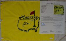 Jack Nicklaus Signed Undated Masters Flag w/ JSA LOA #Z63720 The Rare Blue Sig!