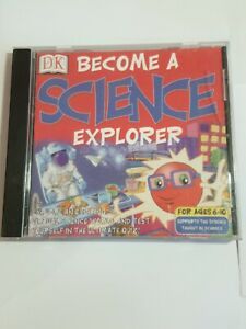 DK: Become A Science Explorer, CD ROM (Windows 95/98/NT4/2000)