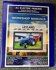Leyland Tractor 245 262 272 462 472 Workshop Manual