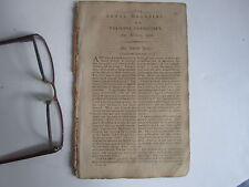 Vermont Rural Magazine Repository Colonial Era Magazine Antique Hydrophobia 1796
