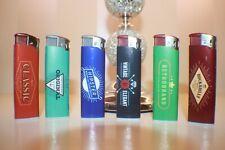 Classic Original Hipster Vintage Retro Lighters Set Of 6 Unique Refillable