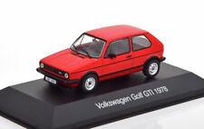Vw golf 1 gti 1978 red 1/43 altaya vw-02 volkswagen ixo I rabbit rot