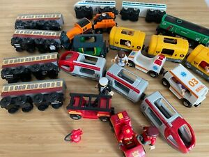 BRIO train sets. Choose from Ambulance, Fire engine, metro, World travel train..