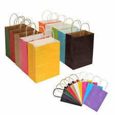Recyclable Kraft Paper Gift Candy Bag Wedding Party Shopping Bags 15*8*21cm