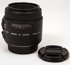 Sigma AF 90mm f/2.8 Auto Focus Macro Lens for Canon EOS Cameras - Near Mint
