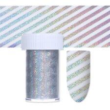 4*100cm Holographique Ciel Étoilé Nail Coloré Ligne Nail Sticker Nail Décoration