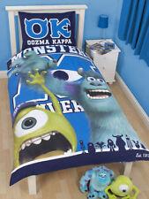 Character Monster Uni Junior Bed-Toddler Bed-Cot Bed  Duvet Cover&Pillowcase set