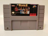 Super Nintendo WWF Royal Rumble Video Game Cartridge Cart SNES