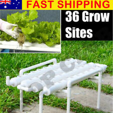 Garden 36 Site Hydroponic Grow Ladder Plant Flower Vegetable Tool Kit System