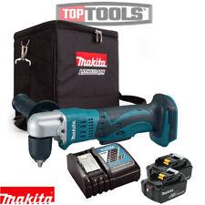 Makita DDA351 18v Cordless Angle Drill With 2 x 5Ah Batteries,Charger & Cube bag