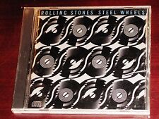 The Rolling Stones: Steel Wheels CD 1989 CBS Records USA DDD CK 45333 Original