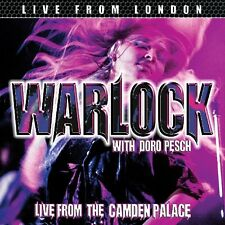 WARLOCK - LIVE FROM LONDON MIT DORO PESCH  CD NEU