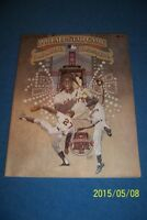 1984 ALL STAR GAME Program SAN FRANCISCO McCovey WILLIE MAYS Marichal UnScored