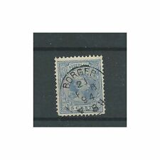 "Nederland 35 met "" BORGER 1894"" VFU/gebr  CV 12,5 €"