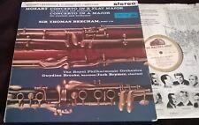 BROOKE BRYMER BEECHAM MOZART Horn Concertos LP HMV ASD 344 W/G Stereo UK ED1