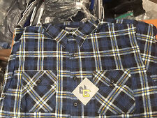 McCarthur Padded Shirt Navy Check XXL