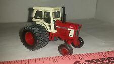 1/64 ertl custom farm toy ih farmall international 1566 tractor with cab, Duals.
