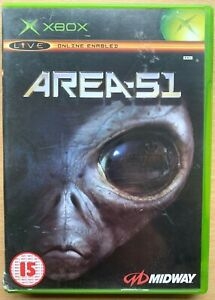 Area 51 Xbox Game Microsoft Midway Alien Adventure Game