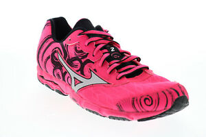 Mizuno Wave Hitogami 2 L511B55 Womens Pink Mesh Lace Up Athletic Running Shoes 8