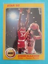 1985 Star Company 5x7 Akeem Olajuwon rookie card # 2