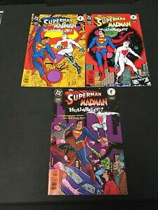 THE SUPERMAN MADMAN HULLABALOO DC Comic Run #1-3 Dark Horse