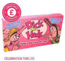 Dick Hedz Head Fun Ring Toss Willy Hoopla Game Hen Night Stag Party Bride To Be