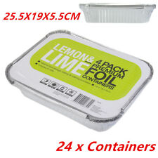 Aluminium Foil Tray Disposable Takeaway BBQ Foil Trays food Container WMCV