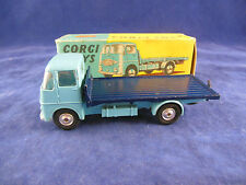 Corgi 457 ERF Model 44G Platform lorry light Blue Cab Rare Wheels