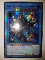 Yu Gi Oh Karten selten Demise Oberster König des Jüngsten Tages Super Rare OP08