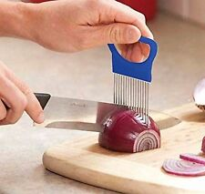 Onion Holder Disabled Easy Hold Cutting Aid Wedger Tomato Potato Meat Slicer