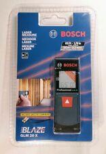 Bosch Blaze Glm 20 Laser Measure One Hand Operation Backlit Display 65 Range