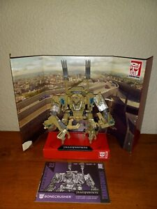 Hasbro Transformers Studio Series 33 BONECRUSHER Excellent Condition Complete