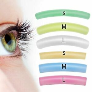 6 Pairs Silicone Gel Pads Eyelash Lifting Perm Lashes Patches Flat Curl Reusable