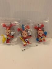 3 VINTAGE 1988 DOMINOS PIZZA AVOID THE NOID CHARACTERS NEW IN PACKAGE