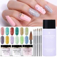 BORN PRETTY Acrylic Powder Glitter Sequins Nail Art Polymer Nail Manicure Dust