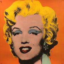 """Andy Warhol - Shot Orange Marilyn (1964) - 1995 - Large Offset 38"""" x 38"""""""