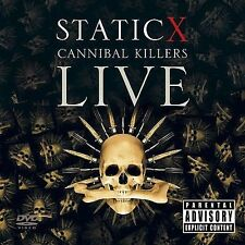 Cannibal Killers Live [PA] by Static-X (CD, Oct-2008, 2 Discs, Reprise)