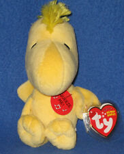 TY WOODSTOCK the MUSICAL BIRD BEANIE BABY - NEW - MINT with MINT TAG