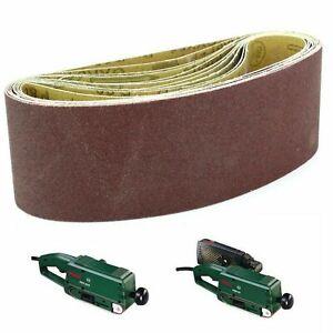 Sanding Belts 60mm x 400mm . Bosch PBS60 PBS60E Belt Sanders (Select Grit & QTY)