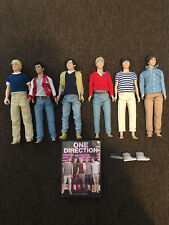 6 One Direction Hasbro Figures Plus Dvd