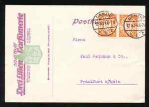 1924 FREIE STADT DANZIG, firm pc.DANZIG 1 DREI LILIEN PARFUMERIE.