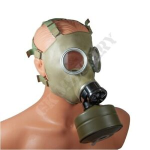 GENUINE NEW OLD STOCK Warsaw Pact Army MC1 Gas Mask Filter Carry Bag