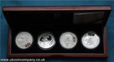 2008 China Beijing Olympics Silver Proof 4 Coin Set