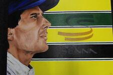 Print on canvas Ayrton Senna (BRA) 1994 by Franka van Lent