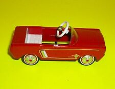 2006 Hallmark Kiddie Car Classic's Red 1964 Ford Mustang Diecast Car Ornament