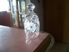 Waterford crystal 1988 5 Rings Christmas bell